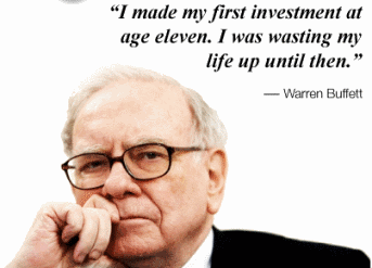 Warren Buffett series #6 – Advice to start investing