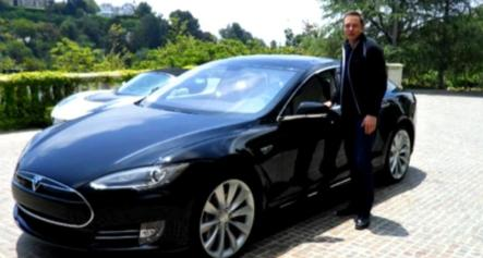 musk-and-his-model-s