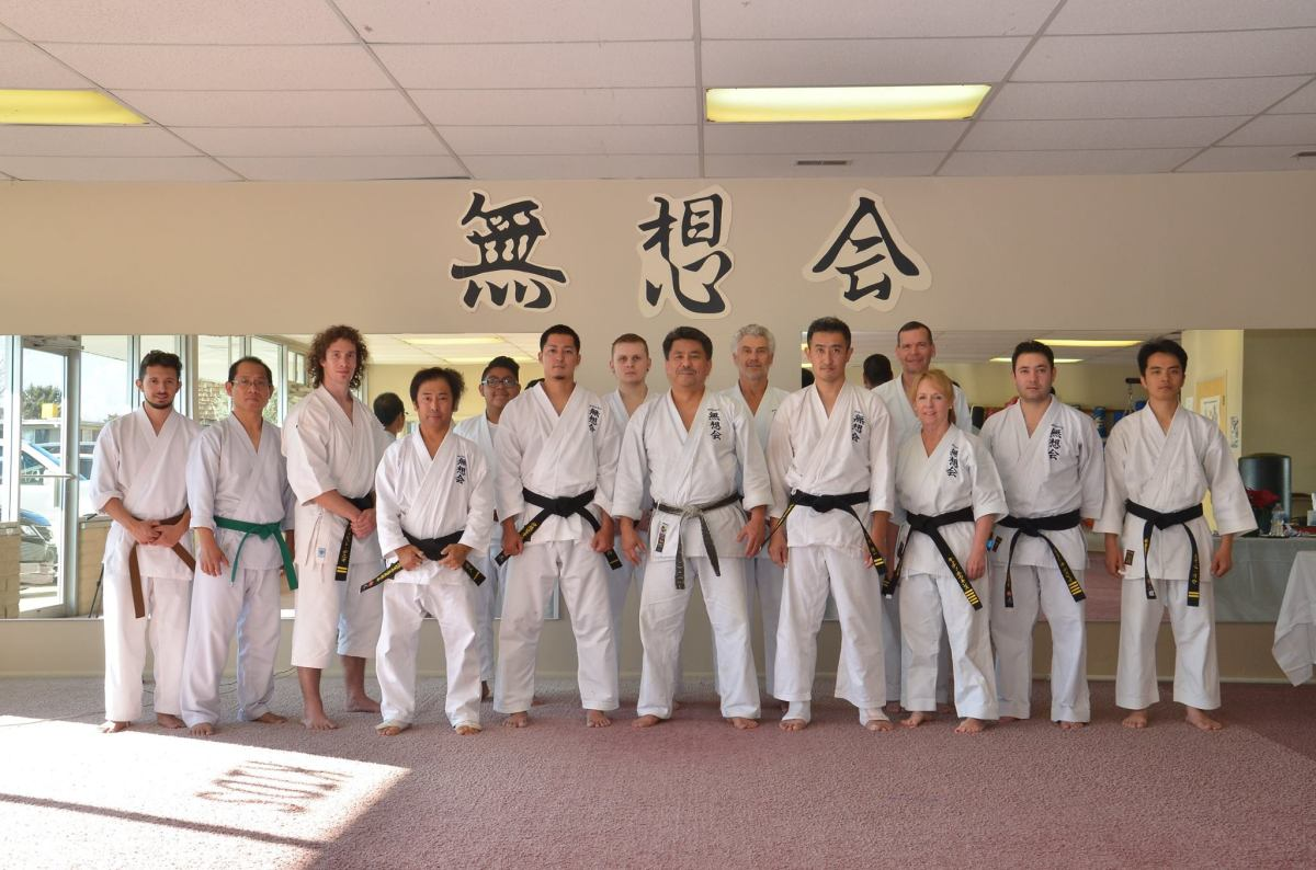 The special training and The extraordinary Musokai Karate blackbelt promotion test - December 9th 2017