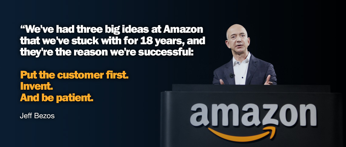 How to think BIG – the Jeff Bezos' way