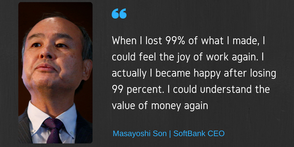 Masayoshi Son's Quote