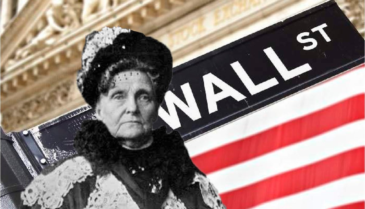 Hetty Green – the witch of Walls Street and the world's richest woman